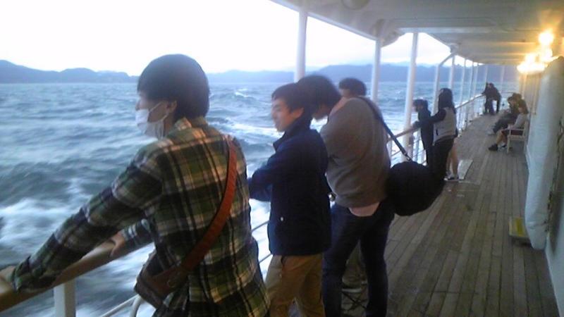修学旅行 観潮船