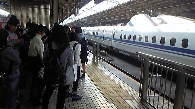 修学旅行 新幹線